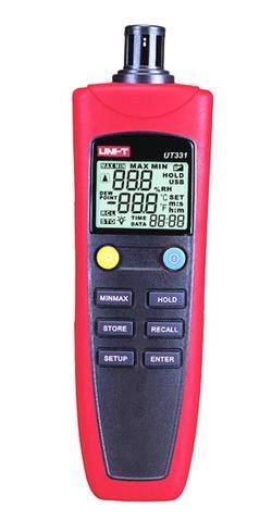 indicador de humedad y temperatura